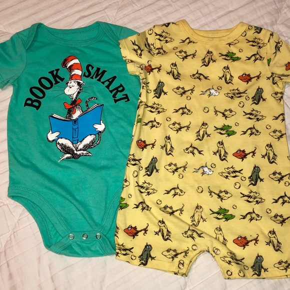 27ea55eb2 Dr Seuss One Pieces | Onesie Romper Two Piece Set 12 Mo | Poshmark